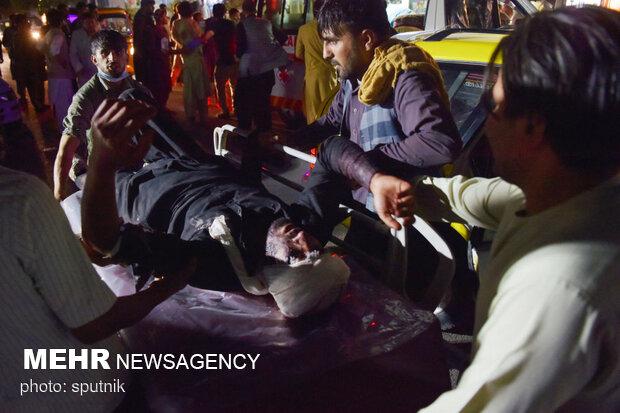 انفجار في مطار كابل