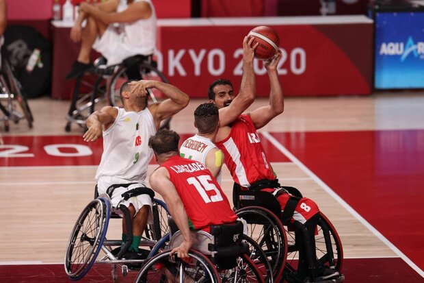 Iran wheelchair basketball eliminated from Paralympic Games