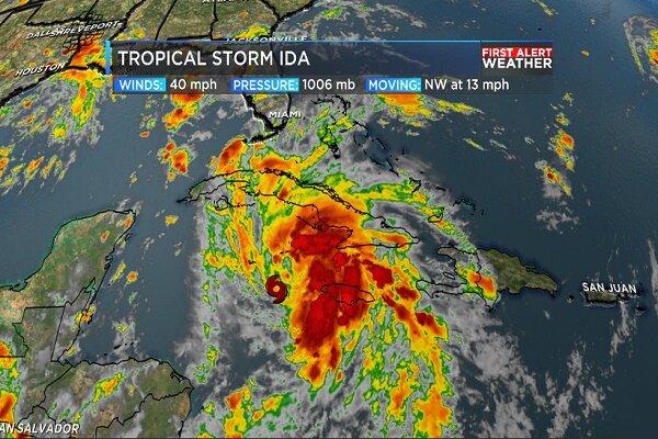 امریکی ریاست لوزیانا کو بڑے سمندری طوفان کا سامنا
