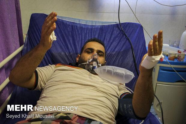 Razi Hospital of Ahvaz amid Covid-19 fifth wave