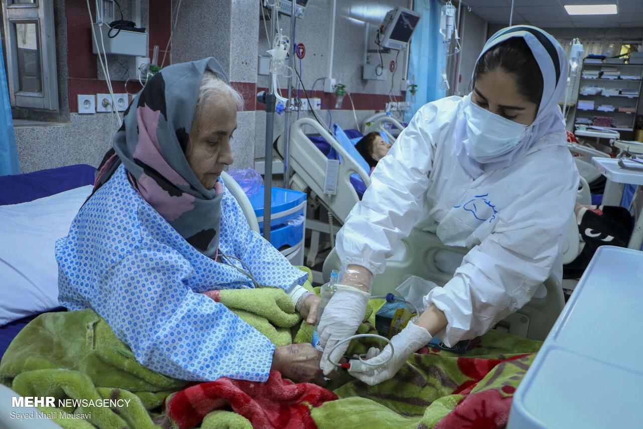 373 بیمار کرونایی در خراسان شمالی بستری هستند