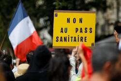 تظاهرات علیه محدودیتهای کرونایی در فرانسه/ ۱۳ پلیس در مارسی زخمی شدند