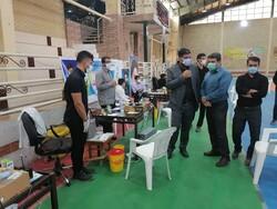 دانشجویان بسیجی استان فارس کادر درمان را تنها نمی گذارند