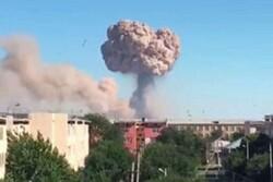 انفجار دوباره در پایگاه «بایزاک» قزاقستان