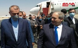 وزير الخارجية الايراني يصل الى دمشق المحطة الثانية من جولته