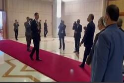 Beşar Esad, İran Dışişleri Bakanı'nı karşıladı