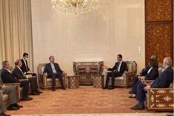 Iran, Syria discuss improving economic, political ties