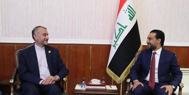 Iran FM, Al-Kadhimi discuss economic projects, pilgrims