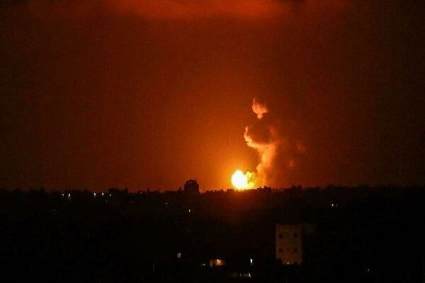 جنگ بندی کے با وجود غزہ پر اسرائیلی فوج کی بمباری