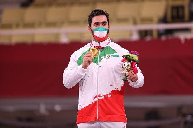 روز پرفروغ کاروان «سردار دلها» با هتتریک در کسب «طلای» پارالمپیک