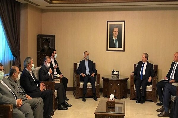 Iran, Syria FMs hold meeting in Damascus on bilateral ties