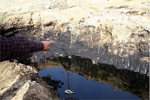 ۲۰۰ هزار تن خاک آلوده به مازوت در پناهگاه حیات وحش