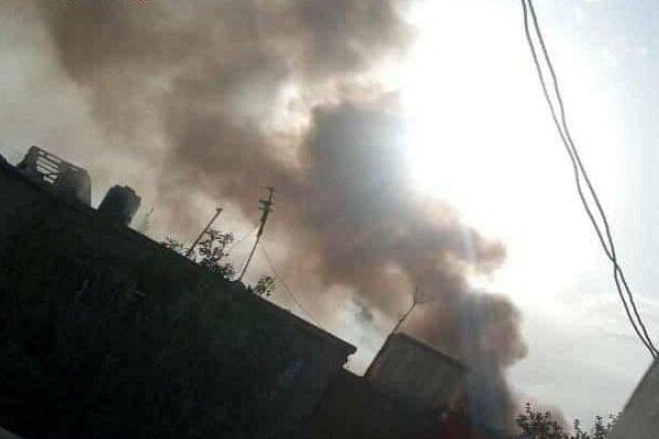 وقوع انفجار شدید و تیراندازی در شمال کابل
