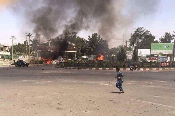 Kabil'de patlama meydana geldi