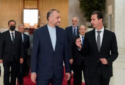الرئيس السوري: التعاون القائم بين البلدين اثمر نتائج ايجابية في حماية مصالح الشعبين الشقيقين