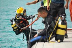 رقابت غواصان بین المللی در بندر کنارک