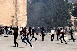 Zionists settlers raid Al-Aqsa Mosque in occupied lands