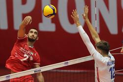 تیم والیبال نوجوانان ایران - چک