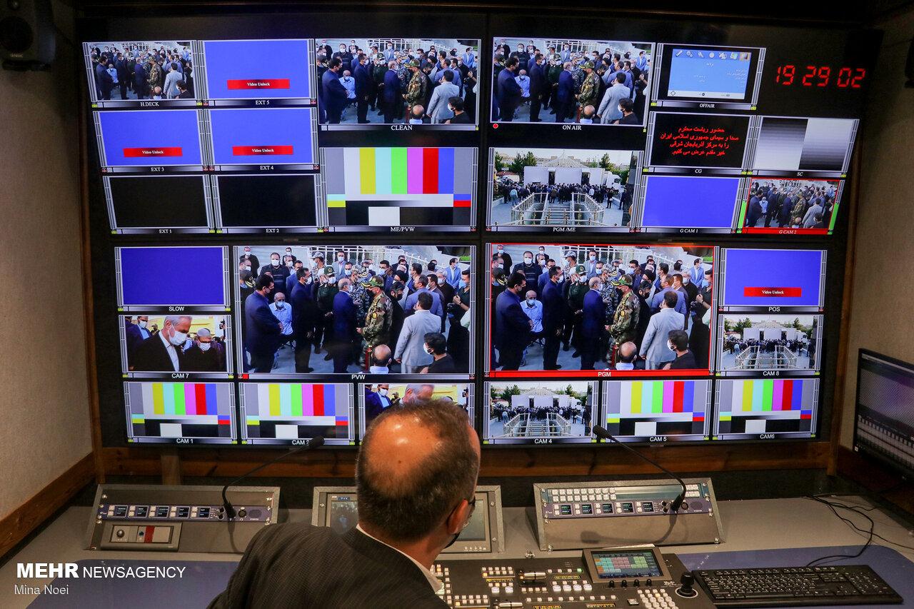 آیین بهره برداری از نخستین واحد سیار تلویزیونی فول اچ دی