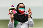 Tokyo'da İranlı kadın sporculardan büyük başarı