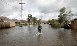 طوفان ایدا  لوئیزیانا را در هم کوبید