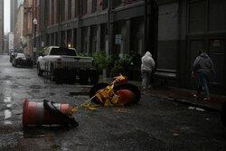 ناامنی در شهر طوفان زده «نیو اورلئان»/ شهردار دستور منع تردد داد