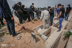 ۴۰ درصد متوفاییان کرونایی کشور در بهشت زهرا (س) تهران تدفین شدند