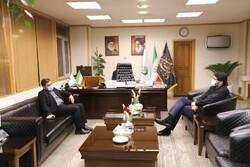 وزیر فرهنگ و ارشاد با بذرپاش دیدار کرد