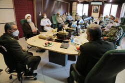 Iranian Defense Minister meets Army chief