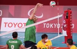 والیبال نشسته ایران - چین