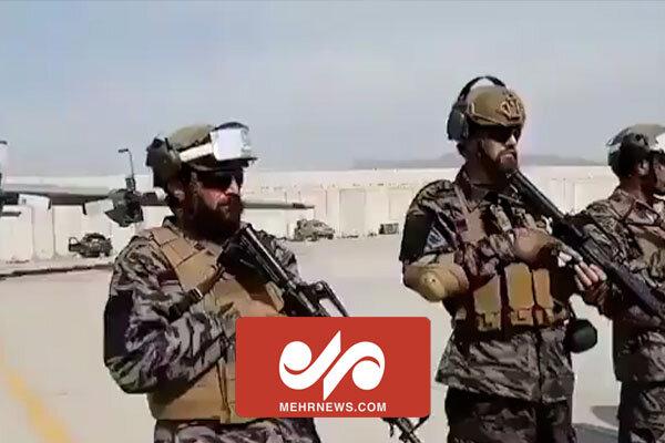 فرودگاه کابل در کنترل طالبان