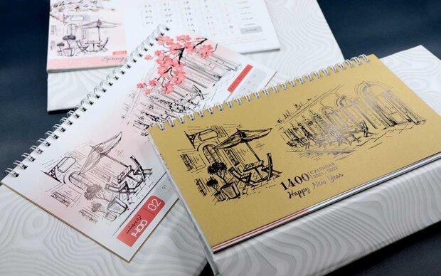 معرفی انواع تقویم رومیزی برای سال ۱۴۰۱ و کاربرد آنها