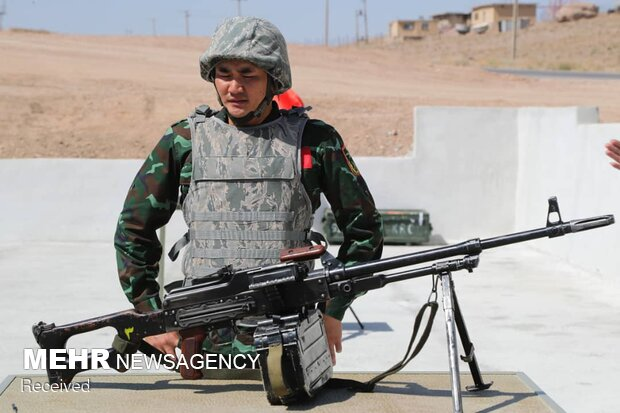 Intl. army games continue in Isfahan