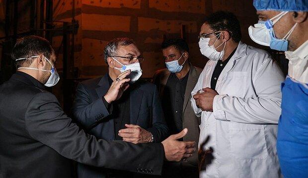عملية التطعيم بلقاح كورونا في ايران ستأخذ منحنى تصاعدي