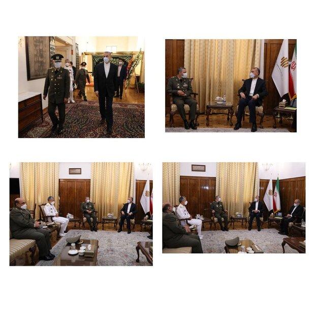 وزير الخارجية: الدبلوماسية الدفاعية جزء لا يتجزأ من السياسة الخارجية لايران