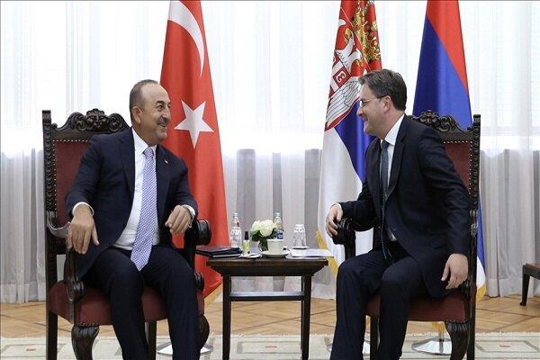 چاووشاوغلو با رئیسجمهور صربستان دیدار کرد