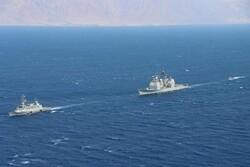 آمریکا و رژیم صهیونیستی در دریای سرخ رزمایش برگزار کردند
