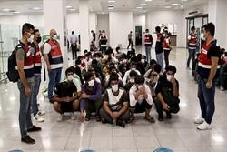 بازداشت ۱۱ مهاجر غیرقانونی سوری در ترکیه