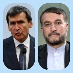 Turkmen FM felicitates new Iran FM Amir-Abdollahian