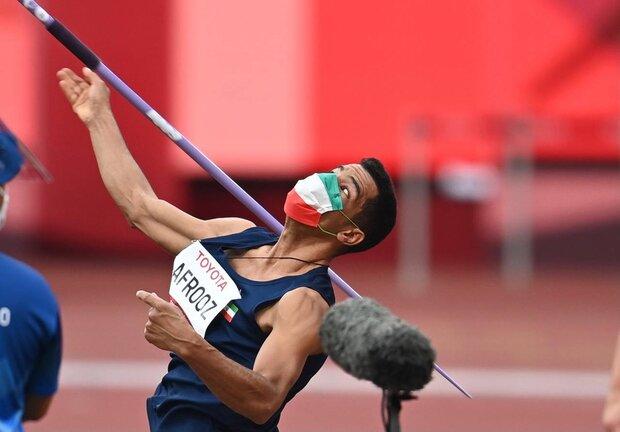 Iran's Javelin thrower Afrooz wins Gold