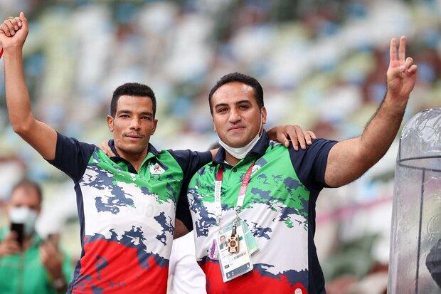 ايران تحصد ميدالية ذهبية في رمي الرمح