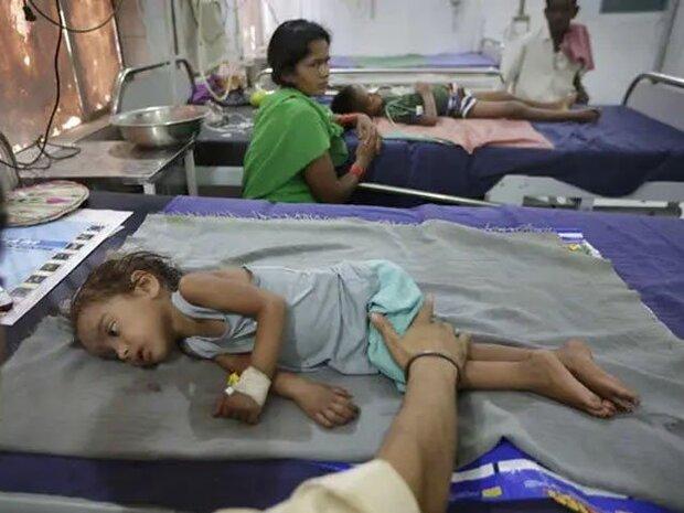 بھارت کی شمالی ریاست میں 50 سے زائد بچے پُراسرار بیماری کی وجہ سے ہلاک