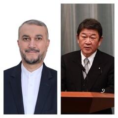 Japanese FM felicitates Iranian counterpart on inauguration