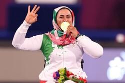 Nemati wins 3rd consecutive gold in Paralympics