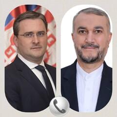 گفتوگوی تلفنی وزرای امورخارجه ایران و صربستان