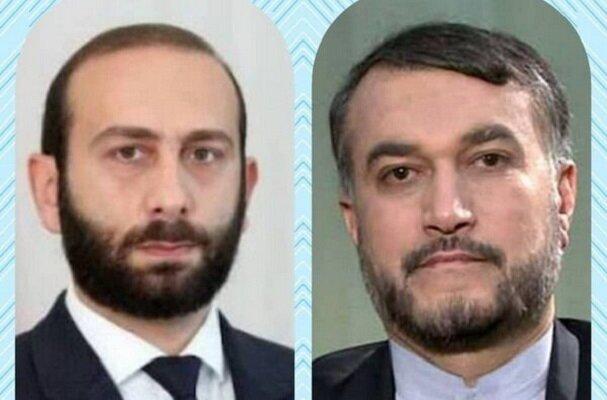 İran Dışişleri Bakanı, Ermeni mevkidaşı ile görüştü