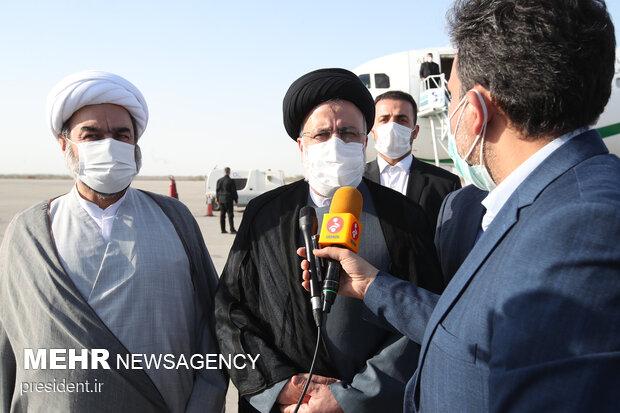 Cumhurbaşkanı Reisi'den Sistan ve Belucistan eyaletine sürpriz ziyaret