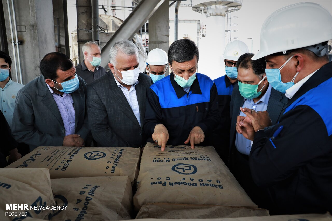 Opening of 3rd production line of Sanaati Doodeh Fam Co.