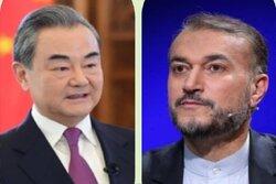 Emir Abdullahiyan Çinli mevkidaşı ile telefonda görüştü