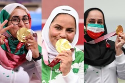 Paralympic women gold winners